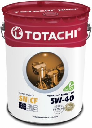 TOTACHI NIRO™ LV SYNTHETIC 5W-40 SN/CF синтетическое моторное масло, 60л