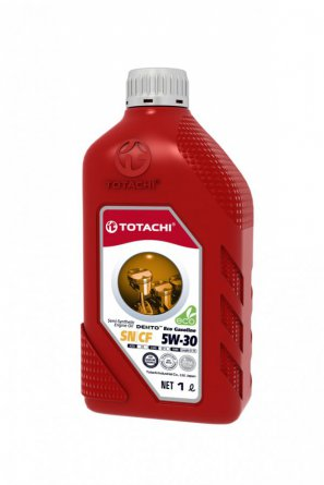 TOTACHI DENTO  Eco Gasoline Semi-Synthetic API SN/CF 5W-30 масло моторное полусинтетическое, 1л