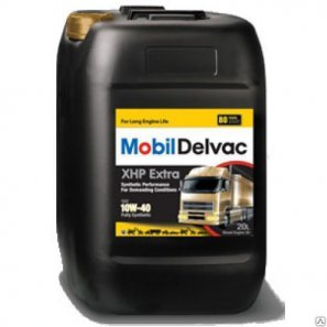 Mobil Delvac XHP Extra 10W­40 масло моторное синтетическое, 20л
