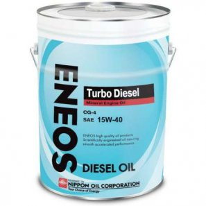 ENEOS Turbo Diesel Mineral Engine Oil CG-4 15W-40 масло моторное минеральное, 20л