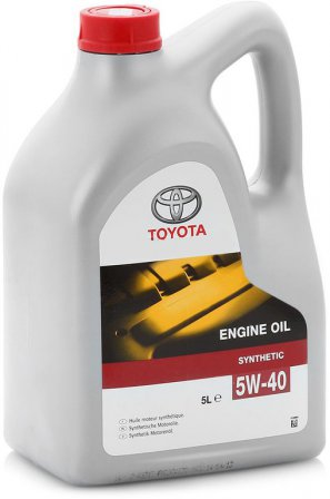 TOYOTA Engine Oil Synthetic 5W-40 синтетическое моторное масло, 5л