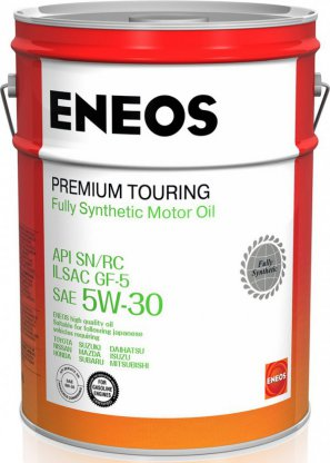 ENEOS Premium Touring Fully Synthetic Motor Oil SN 5W-30 масло моторное синтетическое, 20л