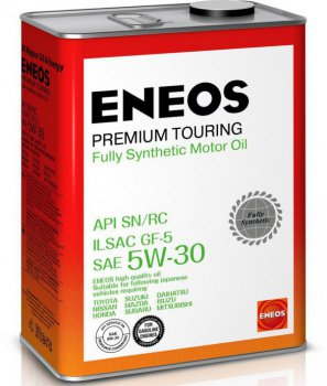 ENEOS Premium Touring Fully Synthetic Motor Oil SN 5W-30 масло моторное синтетическое, 4л
