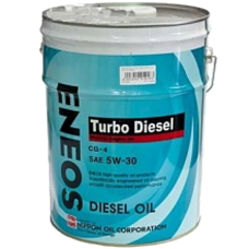 ENEOS Turbo Diesel Mineral Engine Oil CG-4 5W-30 масло моторное минеральное, 20л