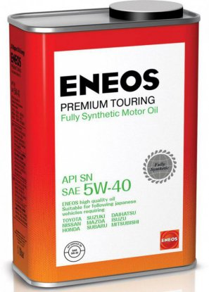 ENEOS Premium Touring Fully Synthetic Motor Oil SN 5W-40 масло моторное синтетическое, 0,94л