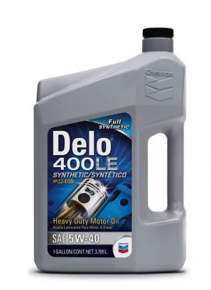 CHEVRON  Delo® 400 LE SYNTHETIC 5W-40 масло моторное синтетическое, 3.785л