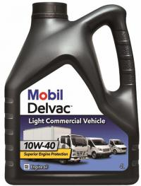 Mobil Delvac Light Commercial Vehicle 10W­40 моторное масло, 4л