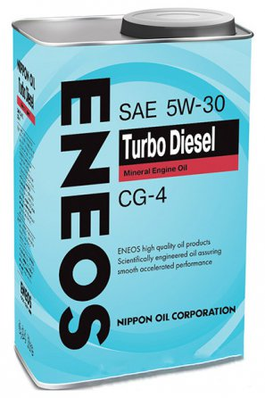 ENEOS Turbo Diesel Mineral Engine Oil CG-4 5W-30 масло моторное минеральное, 0,94л